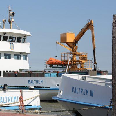 Baltrum Linie Flotte