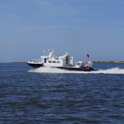Schnellboot Baltrum Linie