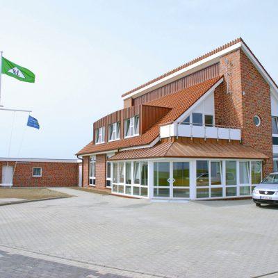 Baltrum Linie Gebäude Neßmersiel