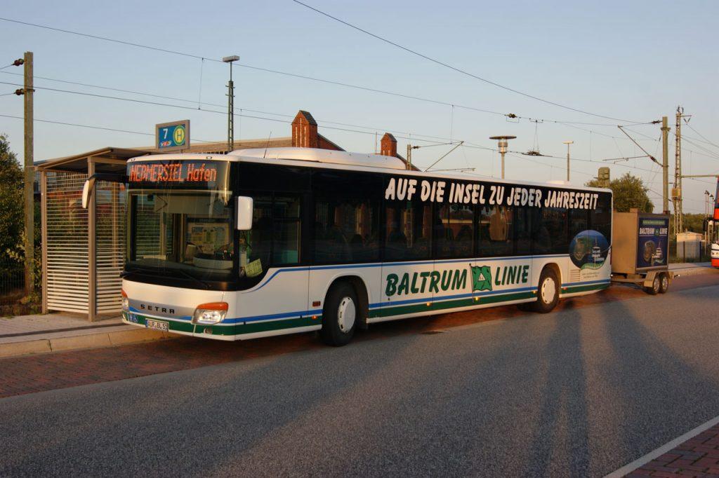 Reederei Baltrum Linie Nordseeinsel Baltrum Anreise