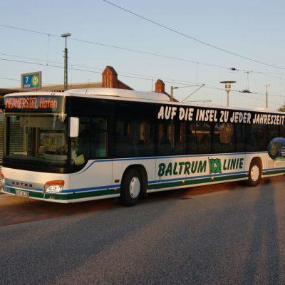 Baltrum Linie Busverbindung